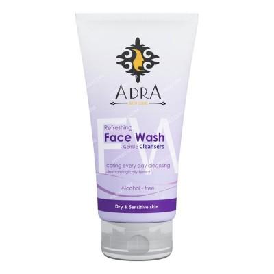 ژل شستشوی صورت مخصوص پوست های خشک و حساس 150 میلی لیتری آدرا