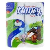 دستمال حوله کم حجم دو قلو نانسی