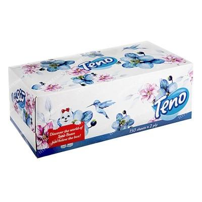 دستمال کاغذی 150 برگ 2 لایه تنو
