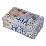صابون حمام 130 گرمی جعبه 6 عددی سفید طرح چهره گلنار
