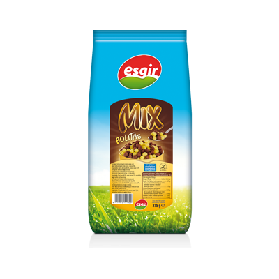 سريال صبحانه ميکس وانيل و شکلات 375 گرمی فاقد گلوتن اسگير