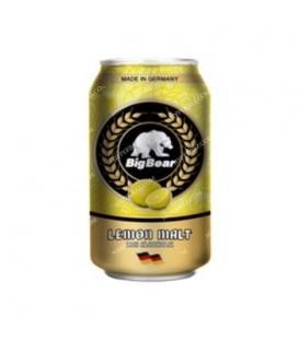 نوشیدنی مالت لیمو 330 میلی لیتری بيگ بیر