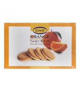 بیسکویت کرمدار پرتقالی جعبه 320 گرمی گرجی
