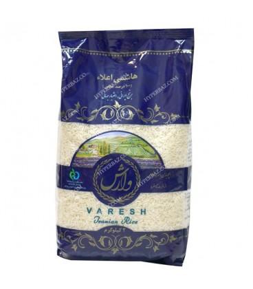 برنج نيم دانه لاشه معطر طارم 5 کيلويي وارش