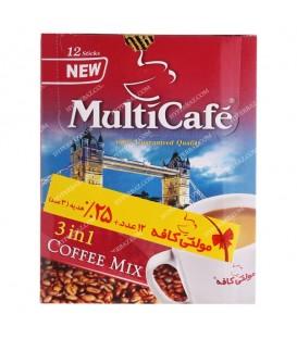 کافی میکس 12 عددی مولتی کافه MultiCafe