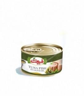 کنسرو ماهی تن در روغن زیتون 180 گرمی طبیعت