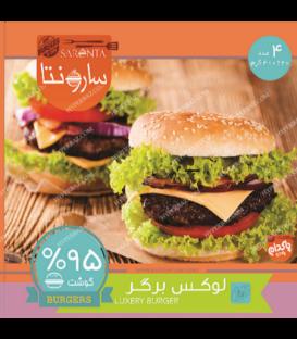 همبرگر 95% 400 گرمی پاکدام