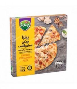پیتزا چیکن استروگانف 360 گرمی پمینا کاله